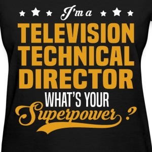 Television Technical Director - Women's T-Shirt