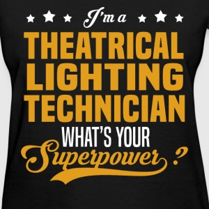 Theatrical Lighting Technician - Women's T-Shirt