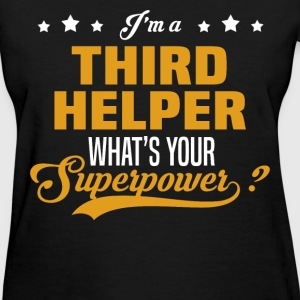 Third Helper - Women's T-Shirt