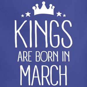 Kings Are Born In March Aprons - Adjustable Apron