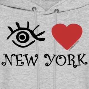 Eye-Love New York - Men's Hoodie