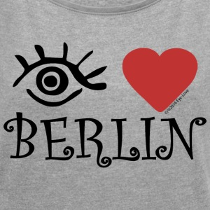 Eye-Love Berlin - Women´s Roll Cuff T-Shirt