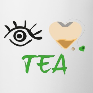 Eye-Love Tea - Contrast Coffee Mug