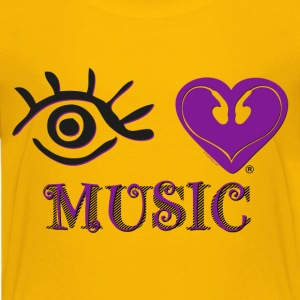 Eye-Love Music - Kids' Premium T-Shirt