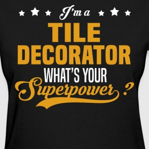 Tile Decorator - Women's T-Shirt