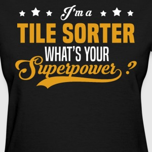 Tile Sorter - Women's T-Shirt