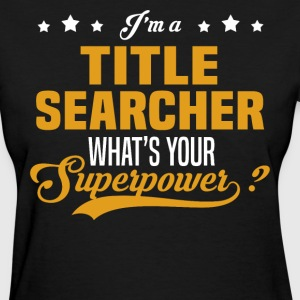 Title Searcher - Women's T-Shirt