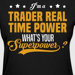 Trader Real Time Power - Women's T-Shirt