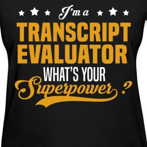 Transcript Evaluator - Women's T-Shirt