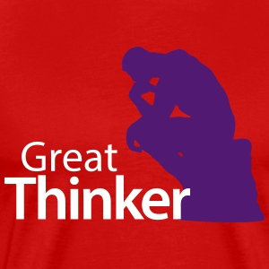 GREAT THINKER - Men's Premium T-Shirt