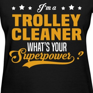 Trolley Cleaner - Women's T-Shirt