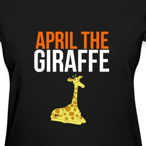 Trending 2017 APRIL THE GIRAFFE Live Birth Graphic T-Shirts - Women's T-Shirt