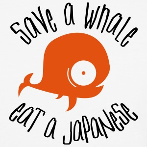 Save Whales T-Shirts - Baseball T-Shirt