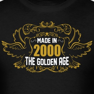 Made in 2000 The Golden Age - Men's T-Shirt