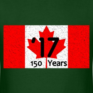 CANADA FLAG 150 YEARS '17 - Men's T-Shirt
