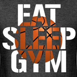 Eat Sleep Gym basketball shirt - Men's T-Shirt