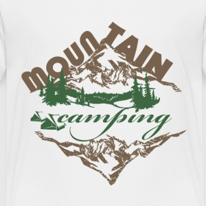 Camping in Mountain - Toddler Premium T-Shirt