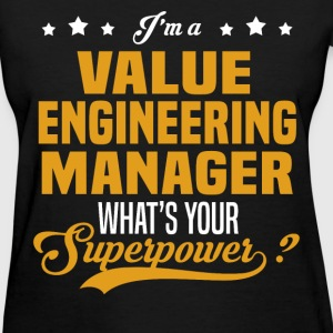 Value Engineering Manager - Women's T-Shirt