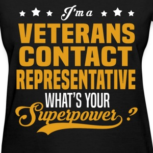 Veterans Contact Representative - Women's T-Shirt