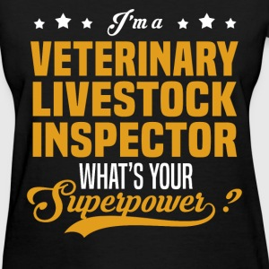 Veterinary Livestock Inspector - Women's T-Shirt