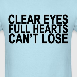 clear_eyes_full_heart_cant_lose_ - Men's T-Shirt