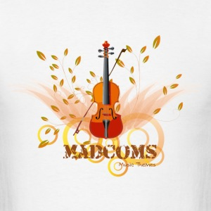 Madcoms Music Theme - Men's T-Shirt
