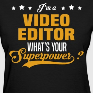 Video Editor - Women's T-Shirt