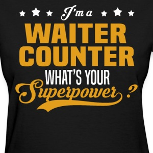 Waiter Counter - Women's T-Shirt
