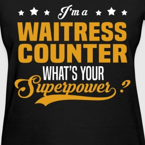 Waitress Counter - Women's T-Shirt
