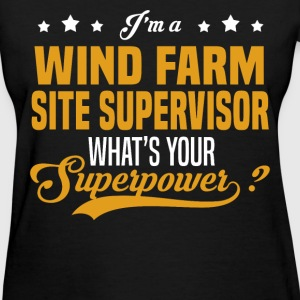 Wind Farm Site Supervisor - Women's T-Shirt