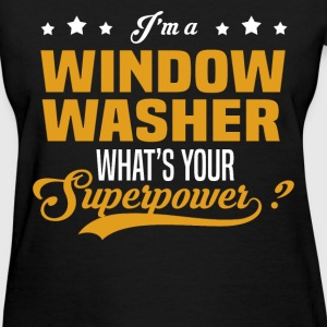 Window Washer - Women's T-Shirt