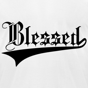 Blessed T-Shirts - Men's T-Shirt by American Apparel