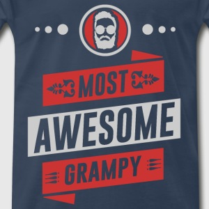 grand pa 1212.png T-Shirts - Men's Premium T-Shirt