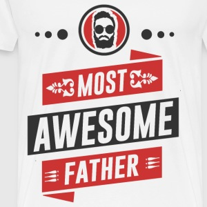 father 23.png T-Shirts - Men's Premium T-Shirt