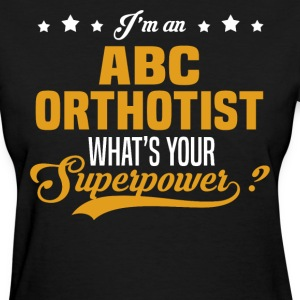 ABC Orthotist T-Shirts - Women's T-Shirt