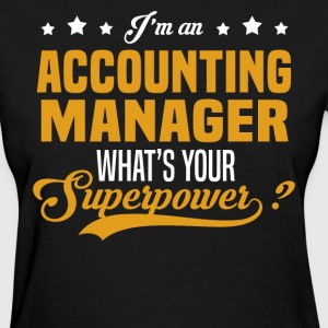 Accounting Manager T-Shirts - Women's T-Shirt