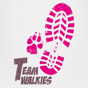 Team walkies pink Kids' Shirts - Kids' Premium T-Shirt