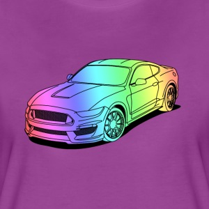 Cool car colourful T-Shirts - Women's Premium T-Shirt