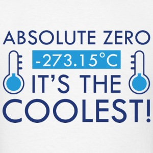 Absolute Zero - Men's T-Shirt