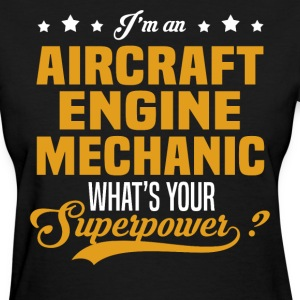 Aircraft Engine Mechanic T-Shirts - Women's T-Shirt