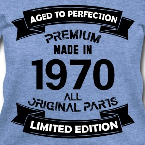 Premium Vintage 1970 Long Sleeve Shirts - Women's Wideneck Sweatshirt