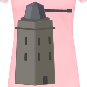 antiair tower or turret - Women's Premium T-Shirt