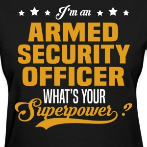 Armed Security Officer T-Shirts - Women's T-Shirt
