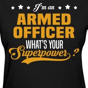 Armed Officer T-Shirts - Women's T-Shirt