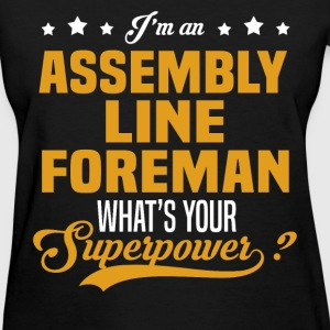 Assembly Line Foreman T-Shirts - Women's T-Shirt