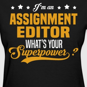 Assignment Editor T-Shirts - Women's T-Shirt