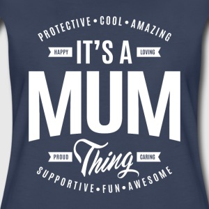 Mum Thing T-shirt - Women's Premium T-Shirt