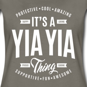 Yia Yia Thing T-shirt - Women's Premium T-Shirt