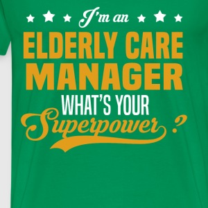 Elderly Care Manager T-Shirts - Men's Premium T-Shirt
