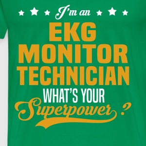 EKG Monitor Technician T-Shirts - Men's Premium T-Shirt